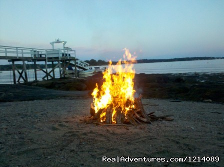 Beach Bonfire for 'Smores (#13 of 16) - New England's Only All-Inclusive Sailing Resort