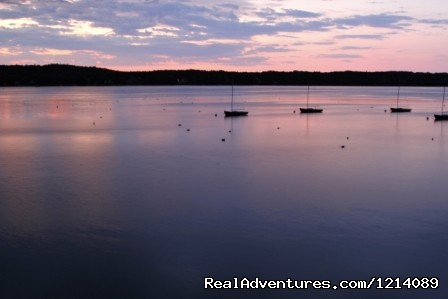 Sunrise from Linwood Lodge (#16 of 16) - New England's Only All-Inclusive Sailing Resort
