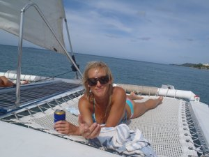 Sail, snorkel, shine, relax aboard the Katarina Rincon, Puerto Rico Sailing & Yacht Charters