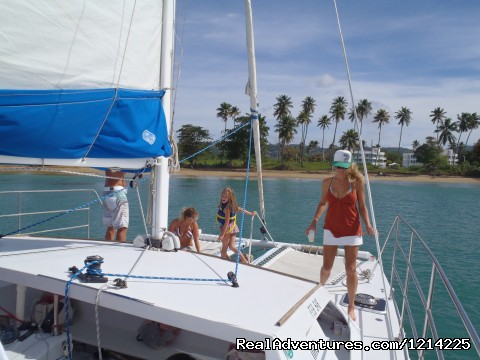 Looking back at the beach (#5 of 10) - Sail, snorkel, shine, relax aboard the Katarina
