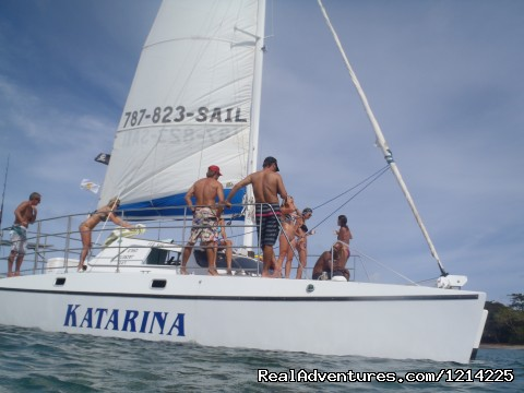 sailing - Sail, snorkel, shine, relax aboard the Katarina