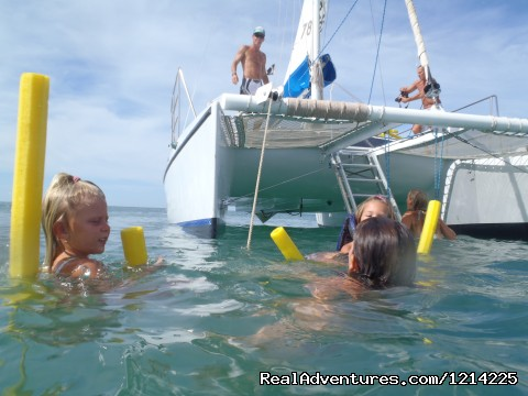 just chilling - Sail, snorkel, shine, relax aboard the Katarina
