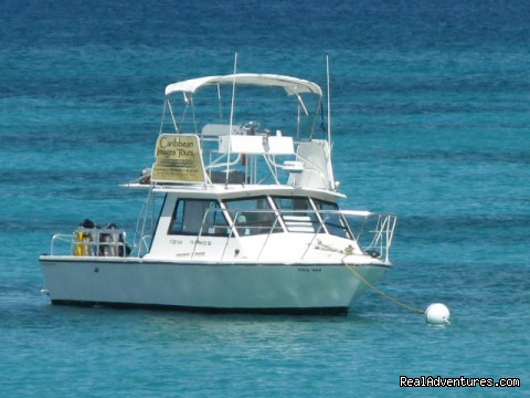 Our vessel Otra Vez - Caribbean Images Tours