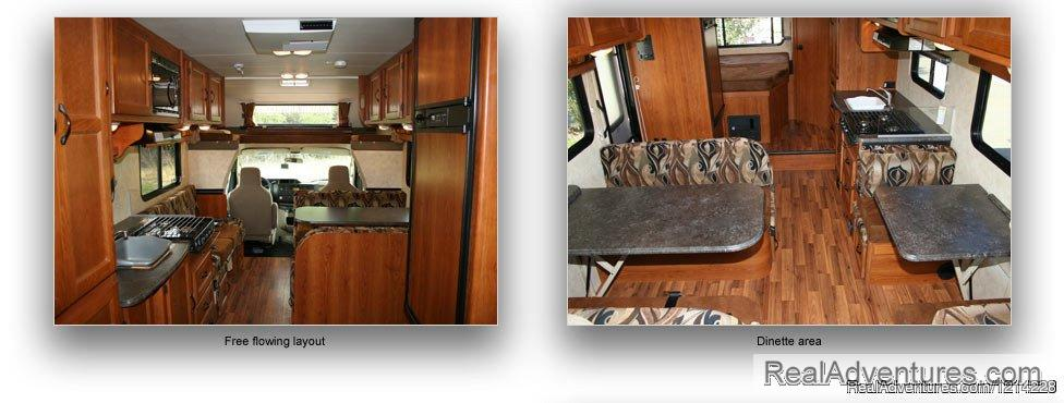 RV Rentals in Anchorage: Free Flowing Layout | Image #23/25 | Alaska RV Rentals | Anchorage Motorhome Rentals