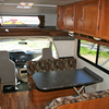 Motorhome Rental, Sleeping and Dining Areas