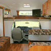 Comfortable Layout in this Motorhome Rental