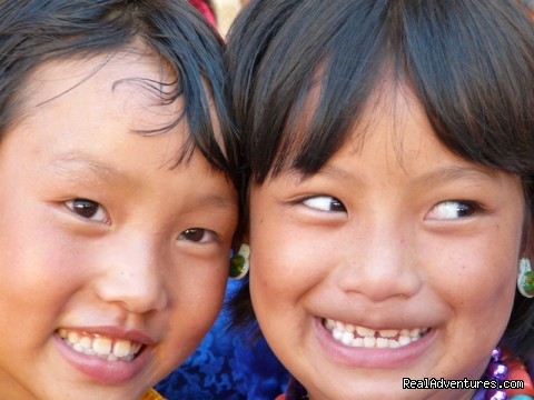 Childrem from Bhutan