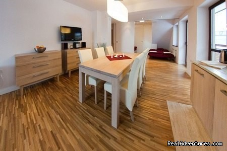 Luxury apartment with sauna and swimming pool
