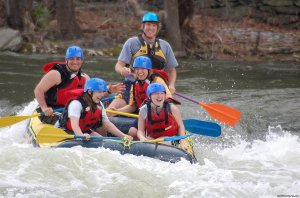 Family Rafting only one hour from Washington DC Harpers Ferry, West Virginia Rafting Trips