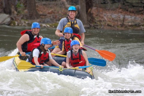 Family Rafting only one hour from Washington DC