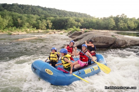 Family-rafting-harpers-ferry - Family Rafting only one hour from Washington DC
