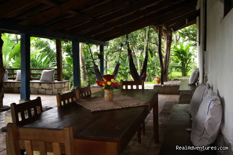 Dining Area - Maya Mountains & Spas with Private Yoga Packages