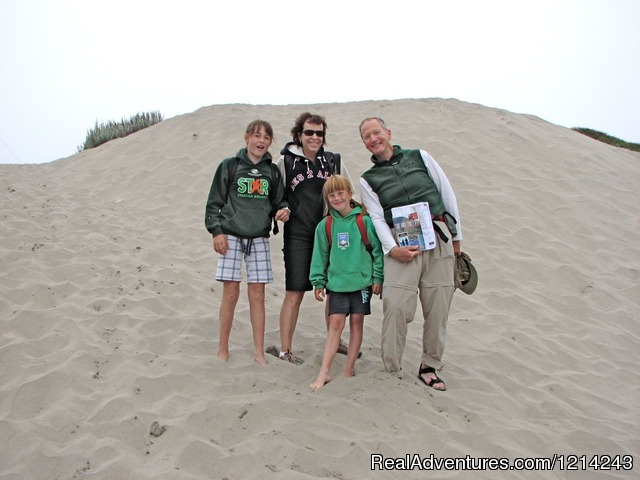 Challenge yourself and your family - Inn to Inn Hiking Around the Monterey Bay