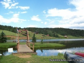 Bridge To Mini Island - Amazing 6/3 Lake House Woodland Park Colorado
