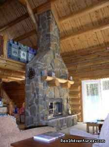 - Beautiful Log Home, 3 Bd, Right On The Bay
