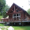 Beautiful Log Home, 3 Bd, Right On The Bay DeTour Village, Michigan Vacation Rentals