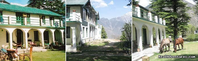 Eagles Nest, side views | Image #2/19 | Himalayan nature resort at Eagles Nest India