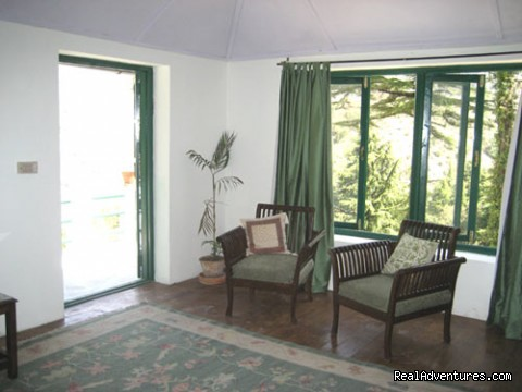 Dhauladhar Room (#10 of 22) - Himalayan nature resort at Eagles Nest India