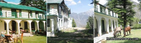 Eagles Nest, side views - Himalayan nature resort at Eagles Nest India