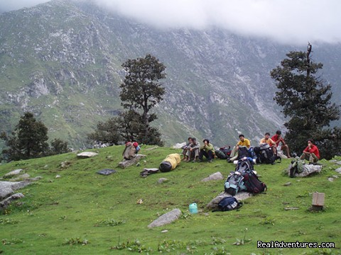 Trek to Triund - Himalayan nature resort at Eagles Nest India