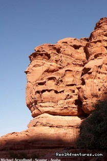 The Faces of Jebel Khazali - Discover Jordan