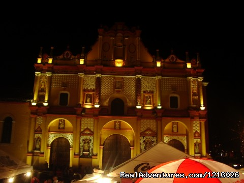 San Cristobal Church - Central America Explorer with MARVELUS TRAVEL