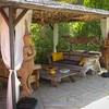 Casa Adelfa's dining area