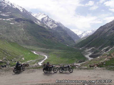Lahaul Valley - Exclusive motorbike Tours in the Himalayas