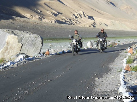 Best way to relieve stress?  - Exclusive motorbike Tours in the Himalayas