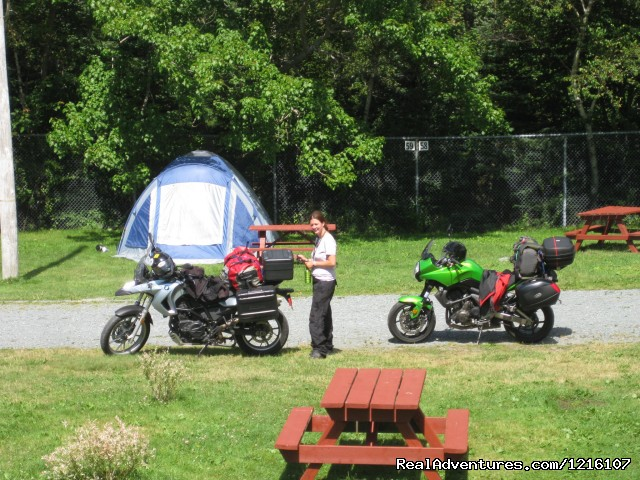 Some Nova Scotia Camping - J.K.Walker Motorcycle, ATV & Tent Trailer Rentals