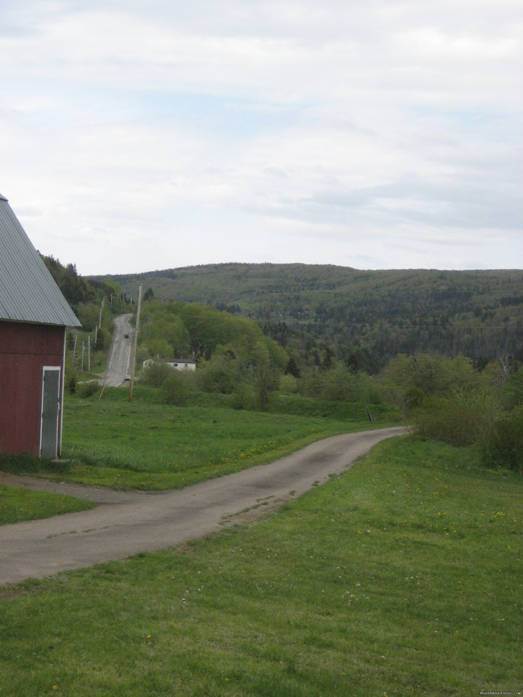 Driveway to Route 395 | Image #2/21 | Farmhouse Vacation Rental in Cape Breton