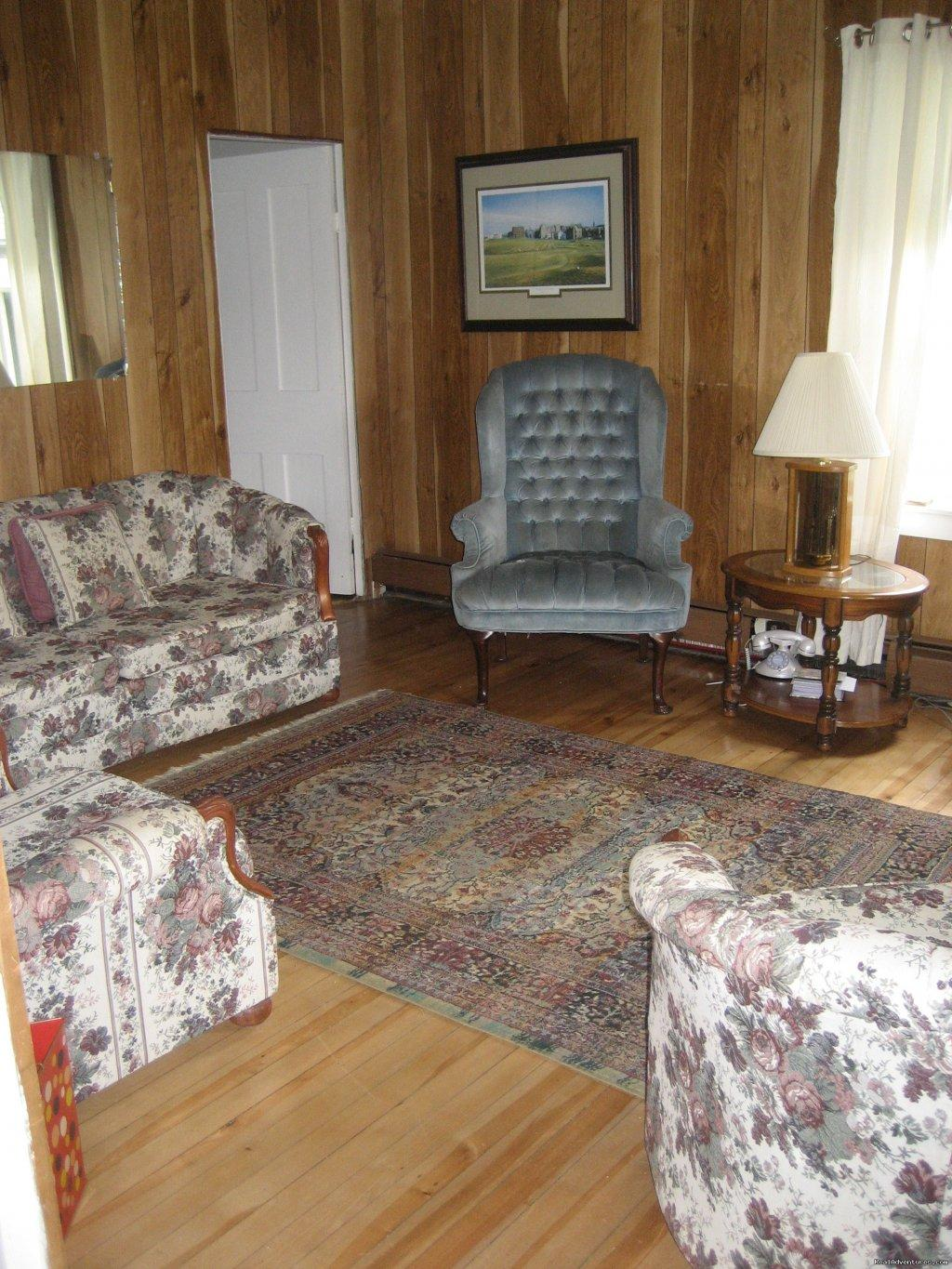 Living Room | Image #8/21 | Farmhouse Vacation Rental in Cape Breton