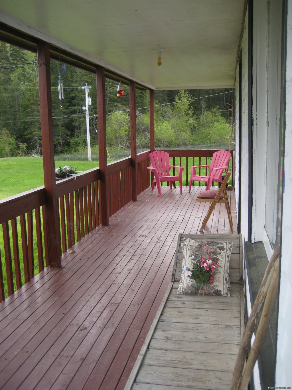 Front Porch (mountain views) | Image #13/21 | Farmhouse Vacation Rental in Cape Breton