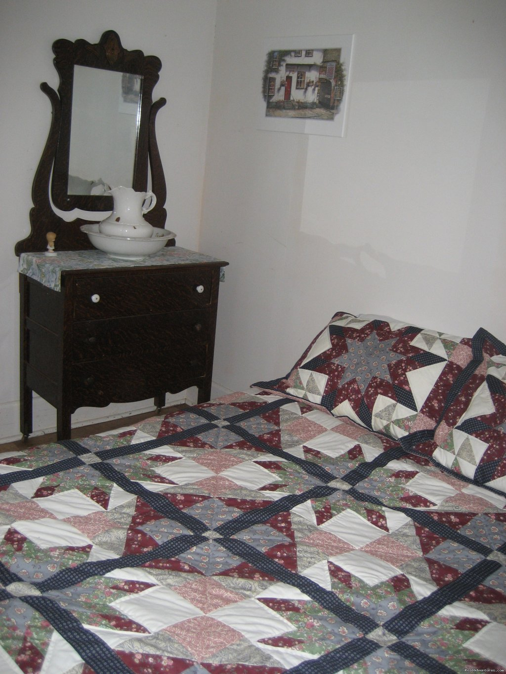 Down stairs bedroom | Image #14/21 | Farmhouse Vacation Rental in Cape Breton