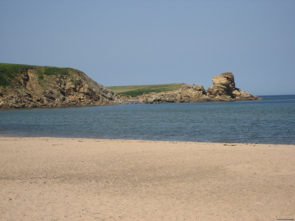 Beach in East Margaree | Image #20/21 | Farmhouse Vacation Rental in Cape Breton