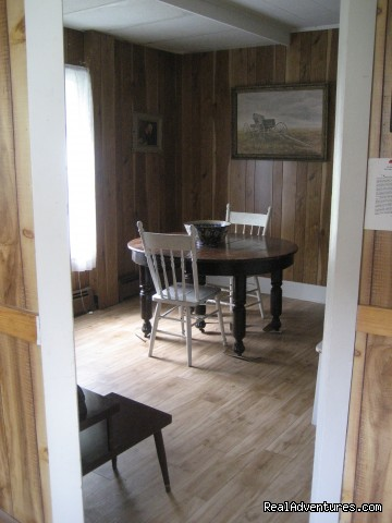 Dining Room - Farmhouse Vacation Rental in Cape Breton