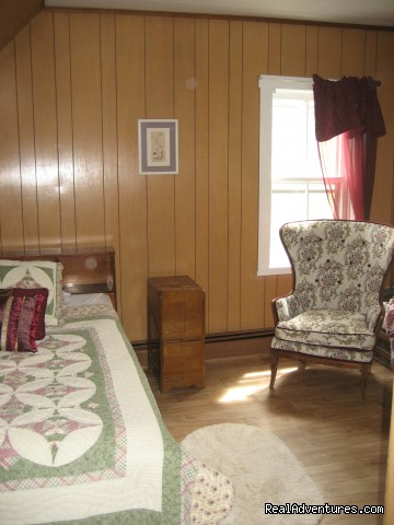 Upstairs bedroom 1 - Farmhouse Vacation Rental in Cape Breton