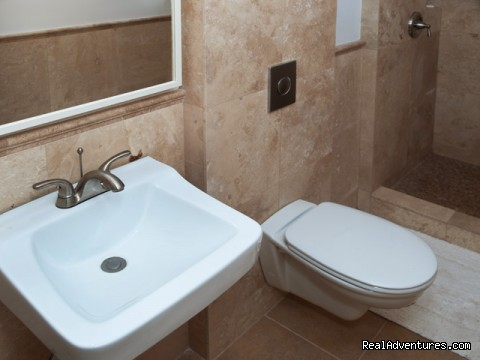 Luxury modern bathrooms - StayON Beverly Hostel  - luxury Private rooms