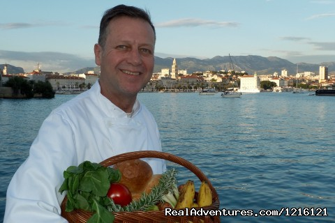 Diocletian Palace Split last summer - Chef  available for Med sail or villa. 3 star exp.