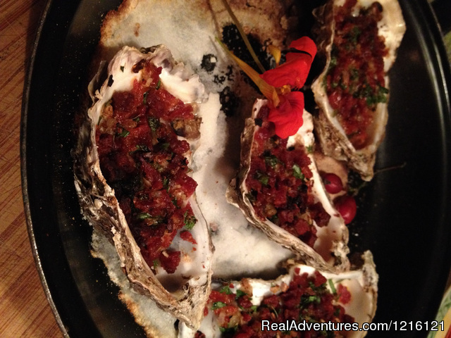 Oysters Andalucia - Chef  available for Med sail or villa. 3 star exp.