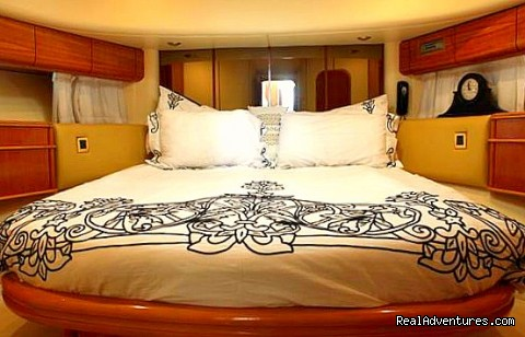 VIP Cabin (#9 of 10) - Romantic Weekend Getaway aboard a Luxury Yacht
