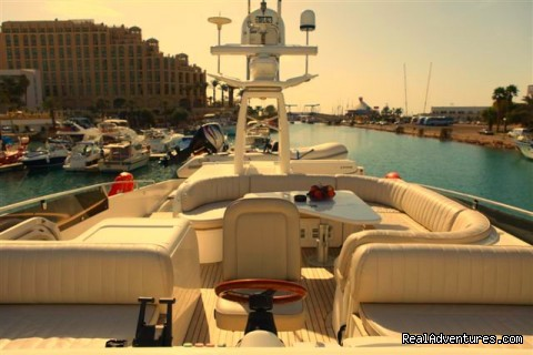 Flybridge - Romantic Weekend Getaway aboard a Luxury Yacht