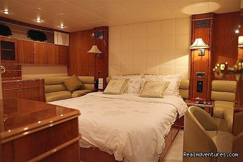 Master Cabin (#8 of 10) - Romantic Weekend Getaway aboard a Luxury Yacht