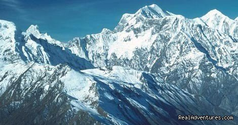 Mount Dhaulagiri (8167m.) was first climbed by the Swiss in 1960. Its name is derived from Sanskrit