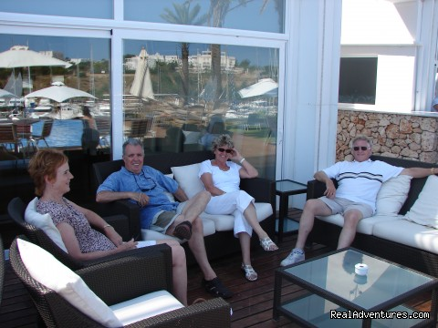 Relaxing at the Yacht Club (#4 of 11) - Cooking Classes and Gourmet Holidays in Mallorca