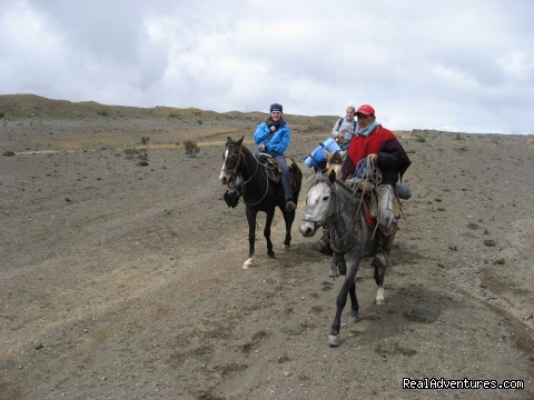 High Altitude Horseback Riding