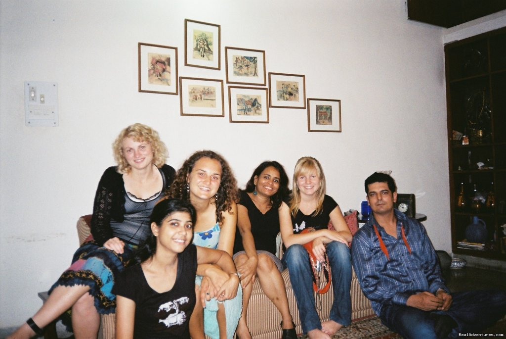 Alicia and company from Germany | Image #7/10 | A great Home stay in New Delhi at Mayas Nest A B&B