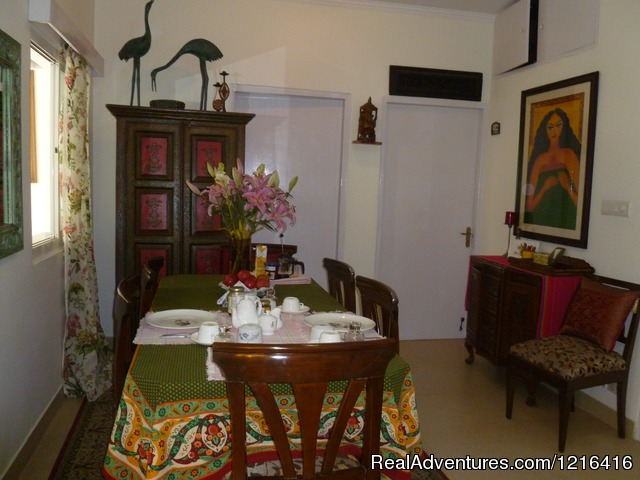 A great Home stay in New Delhi at Mayas Nest A B&B