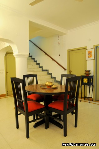 dining room - Homestay Delhi9. Close to Delhi Airport.
