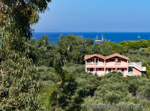 Zakynthos Holidays/Arazzo Villa rental Near the the Ionian Sea